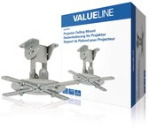 Valueline VLM-PM11 Projector Plafondbeugel Draai- En Kantelbaar 10 Kg Zilver