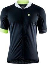 Craft Adopt Jersey M Fietsshirt Heren - Black/Snap
