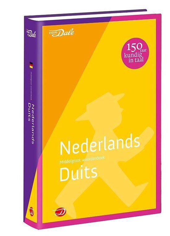 Van Dale middelgroot woordenboek Nederlands-Duits - none pdf epub