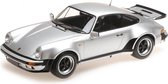 Porsche 911 (930) Turbo 1977 Zilver 1-12 Minichamps Lim.150  Pieces