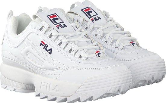 bol.com | Fila Disruptor meisjes dad sneaker - Wit - Maat 33