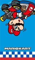 Nintendo Super Mario kart strandlaken/badlaken - Zwemhanddoeken/strandlakens/badlakens/handoeken voor jongens/meisjes