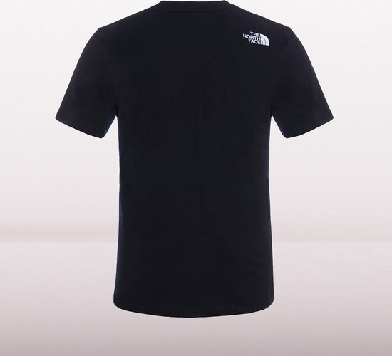 The North Face S/s Simple Dome Tee - Eu Outdoorshirt Heren - TNF Black - The North Face