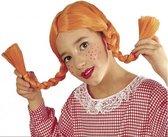Kinderpruik Pippi oranje
