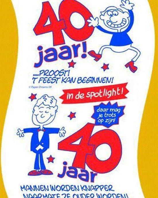 Uitgelezene bol.com | Toiletpapier 40 jaar man AA-39