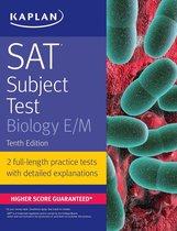 Boek cover SAT Subject Test Biology E/M van Kaplan Test Prep