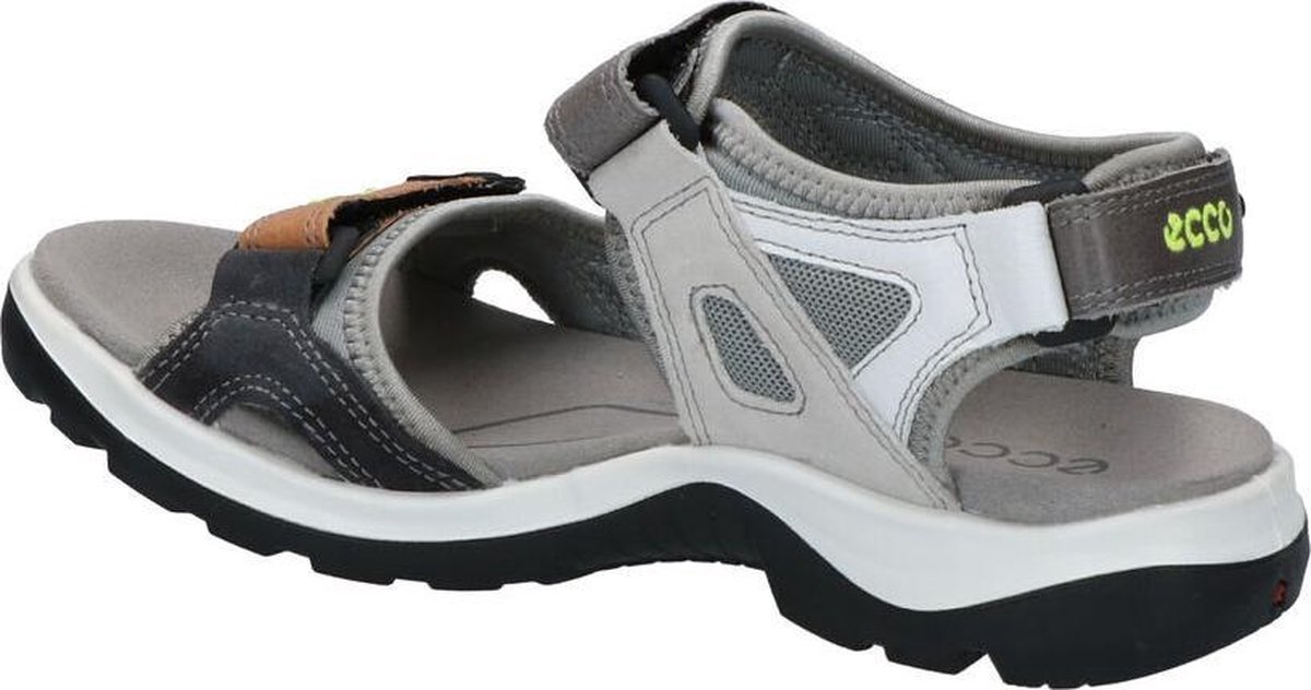 Ecco Leather Yucatan Outdoor Offroad Hiking Sandal in Brown