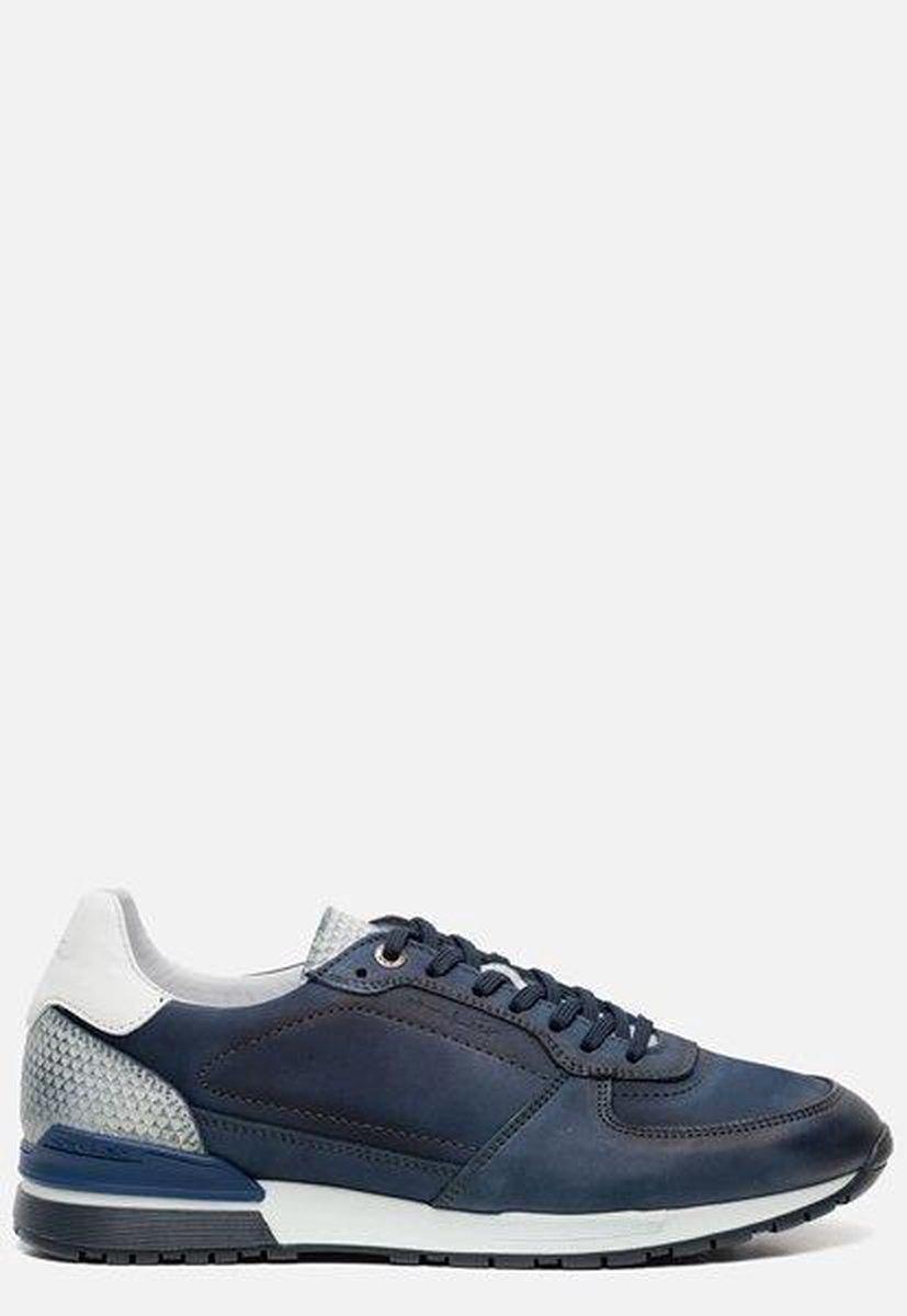 Van Lier Chavar Heren Sneakers - Blauw - Maat 41 GUIwU