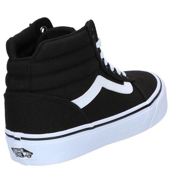 bol.com | Vans Ward Hi Sneakers Dames - Maat 38,5 - (Canvas ...