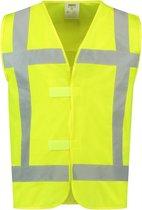Tricorp veiligheidsvest RWS - 453015 - fluor geel - maat 3XL-4XL