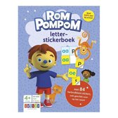 Rompompom - Rompompom letter-stickerboek