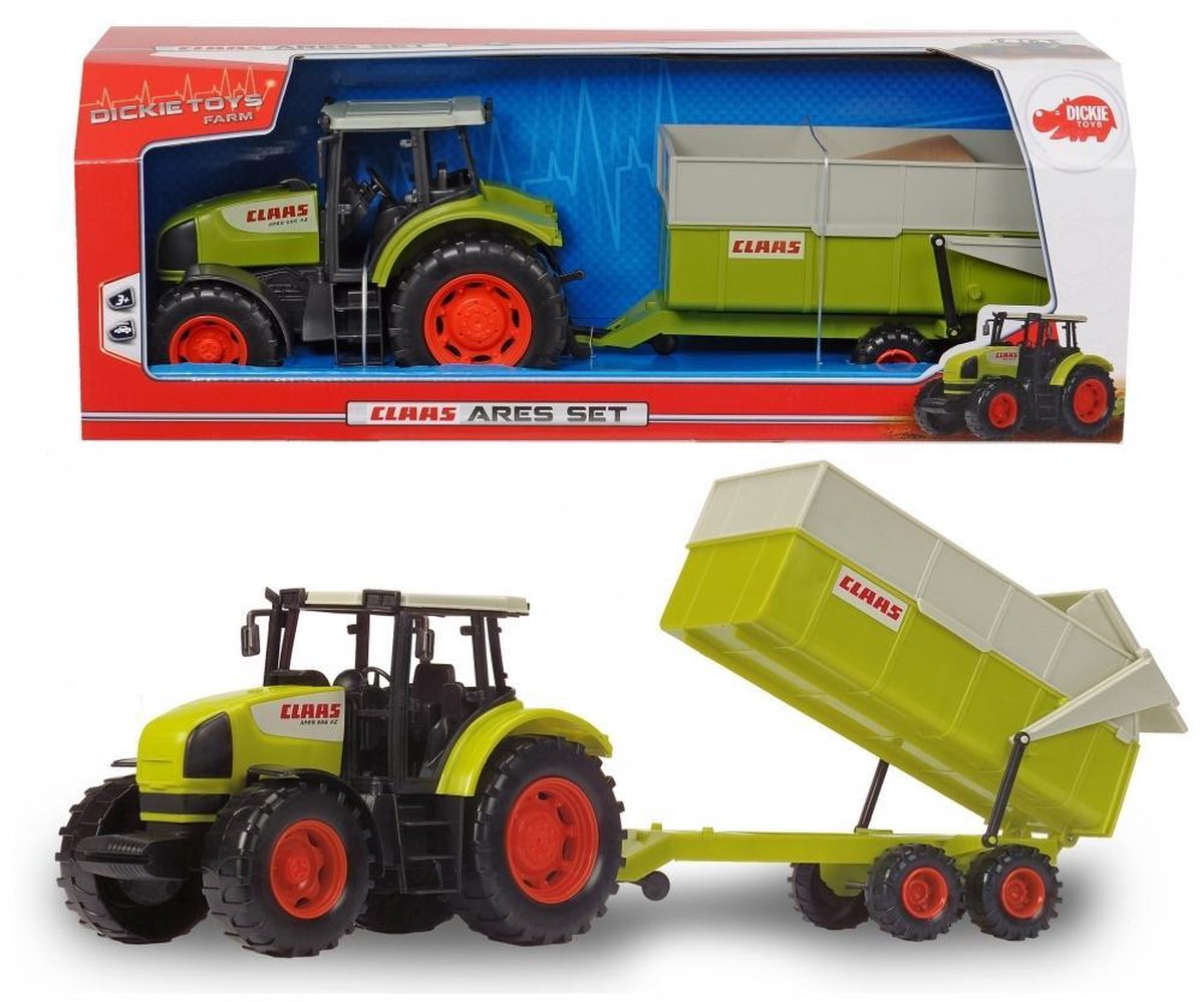 Dickie - Claas Ares Set - Tractor