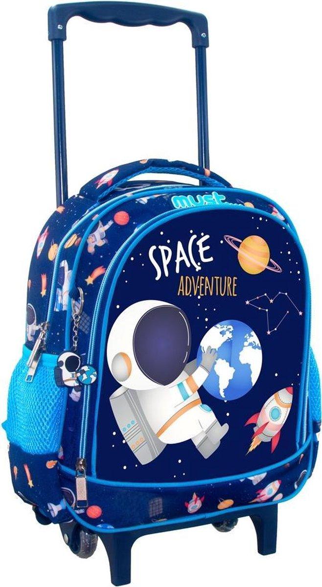 Must Trolley Rugzak Astronaut - 31 x 27 x 10 cm - Polyester