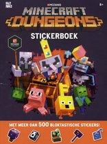 Minecraft  -   Minecraft - Dungeons Stickerboek