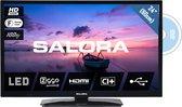 Salora 24HDB6505 - Televisie - LED - 24 Inch - HD - Ingebouwde DVD speler - HDMI - USB