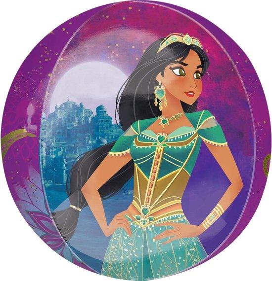 Disney Folieballon Aladdin Junior 38 X 40 Cm Paars