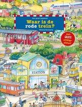 Zoekboeken  -   Waar is de rode trein?