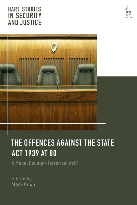 Boek cover The Offences Against the State Act 1939 at 80 van  (Onbekend)