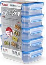 Tefal MasterSeal Fresh Mealprep Set - 5 x 800ml - Blauw