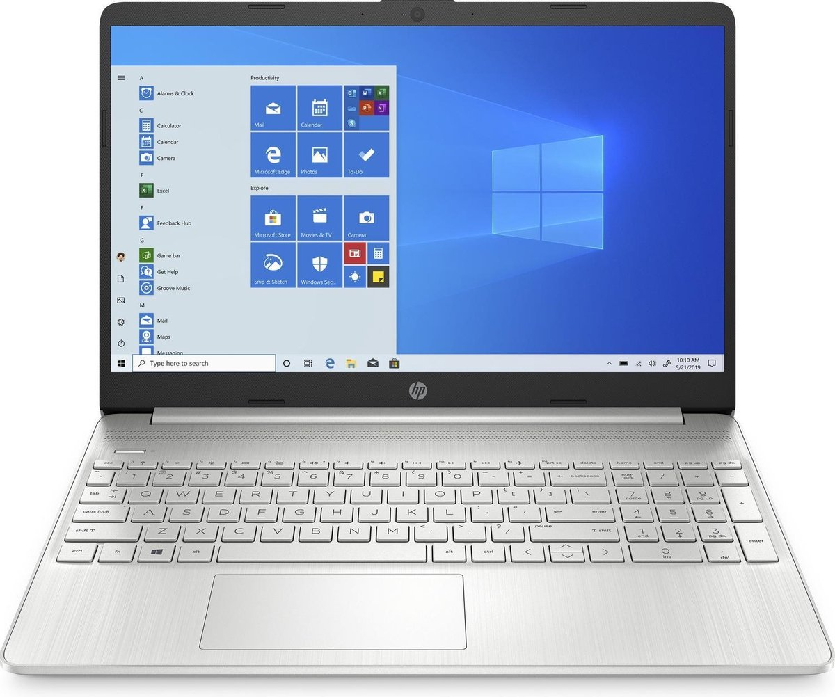 HP 15 inch laptop - AMD Athlon 3020E - 4GB RAM - 128GB SSD - inclusief 1 jaar Office 365 Personal! (Word, Excel, Powerpoint, Outlook, 1TB OneDrive cloud opslag)