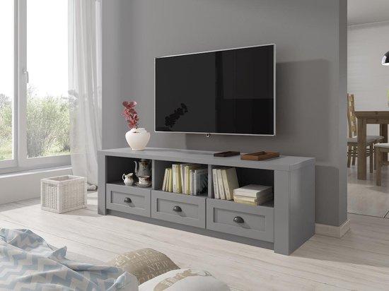 TV-Meubel Parello - Grijs - 160 cm - ACTIE