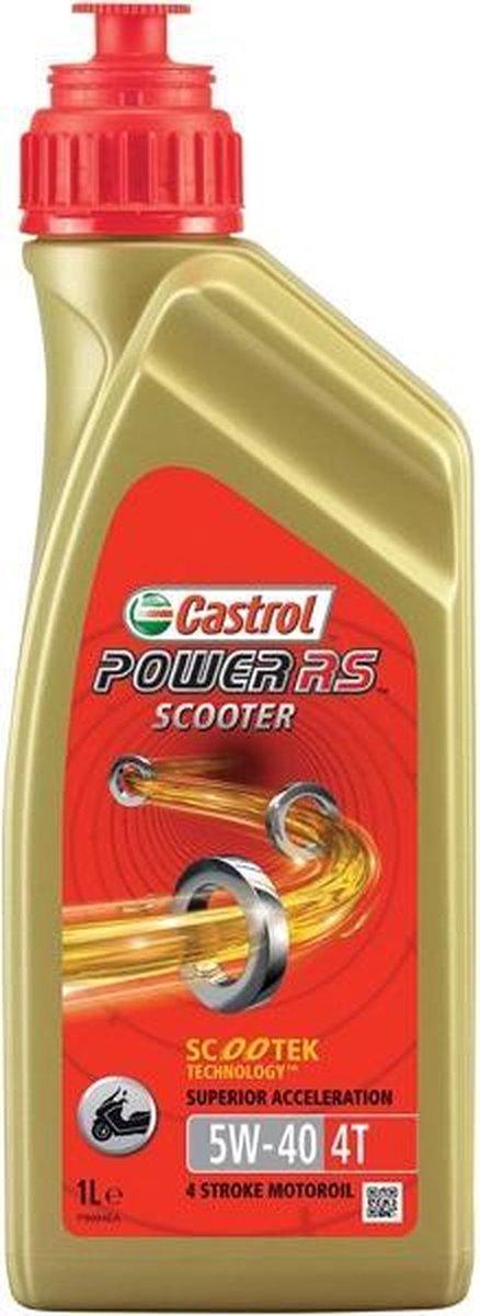 Castrol 155BBB Power RS Scooter 4T 5W40 - Motorolie - 1L