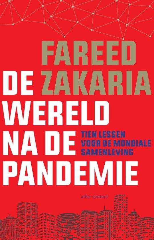 Boek cover De wereld na de pandemie van Fareed Zakaria (Onbekend)