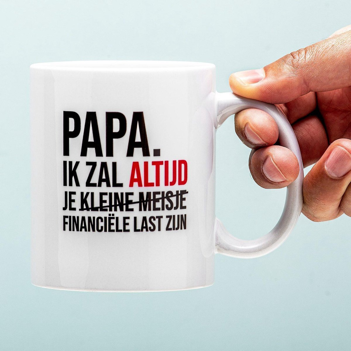 Nutcrackers Financiële Last Vaderdag Mok
