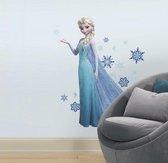 Disney Frozen Elsa - Muursticker - 21x46 cm - Multi