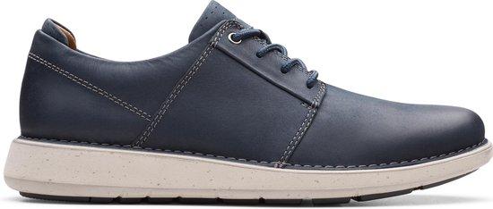 Clarks - Herenschoenen - Un Larvik Lace - G - navy leather - maat 7