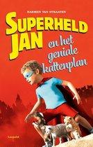 Omslag Superheld Jan  -   Superheld Jan en het geniale kattenplan
