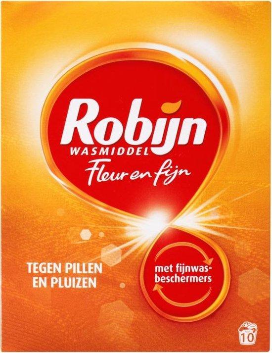 Robijn Fleur & Fijn Waspoeder Geconcentreerd Wasmiddel - 7 x 10 wasbeurten - Voordeelverpakking
