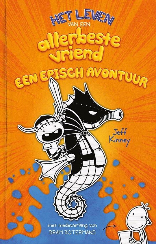 Boek cover Het leven van een allerbeste vriend 2 - Een episch avontuur van Jeff Kinney (Hardcover)