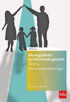 Monografieen (echt)scheidingsrecht 4 -   Alimentatieverplichtingen. Editie 2020