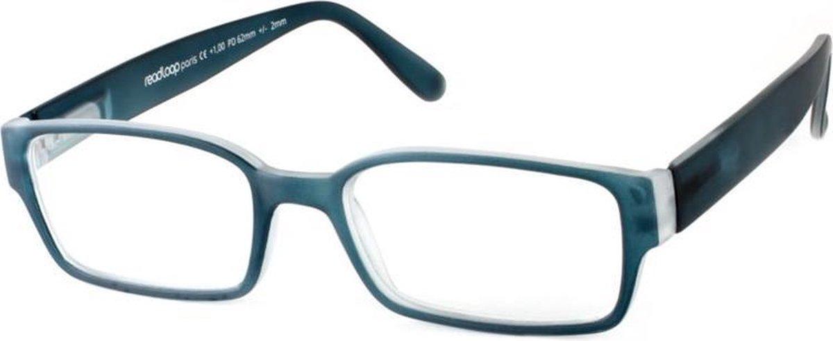 Leesbril Readloop Poncho 2608-02 staal blauw +1.00 kopen