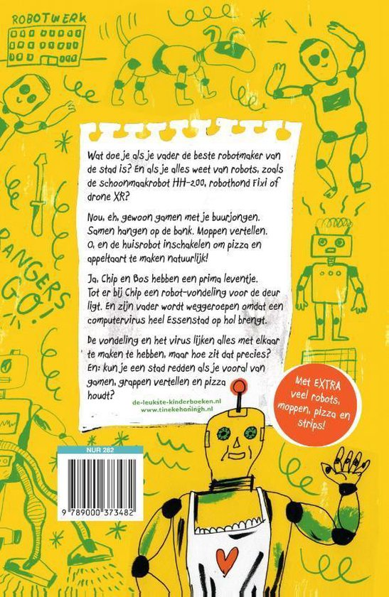 Chip & Bos - Roborangers! - Tineke Honingh |