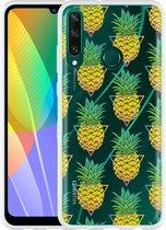 Huawei Y6p Hoesje Pineapple
