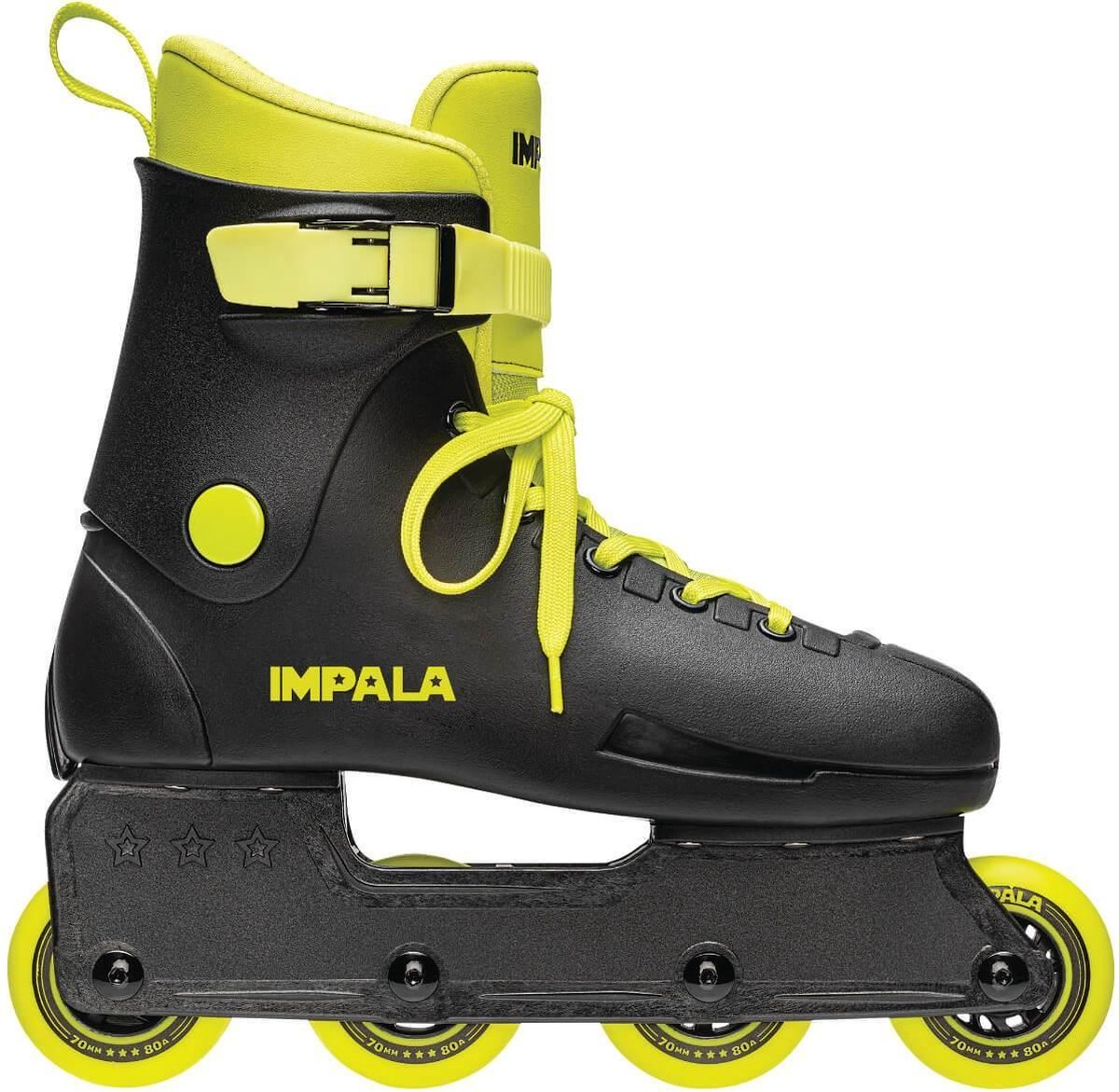 Impala Lightspeed inline skates 70mm black / fluoro