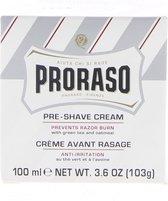 Proraso white Pre Shave Cream - 100 ml - Scheercreme