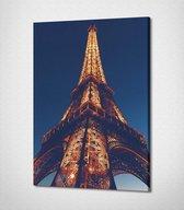 Paris - Eiffel Tower Canvas | 60x40 cm