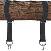 4gardenz nylon schommel / hangmat schommel ophangset voor boom of balk
