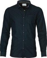 No Excess Overhemd - Modern Fit - Blauw - XXL
