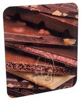 Compactor Zelfklevende Hanger Chocola 9 Cm Polycarbonaat Bruin