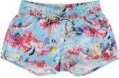 Molo - UV-zwemshort voor meisjes - Nalika - Coral Stripe - maat 98-104cm
