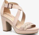 Nova dames hak sandalen - Beige - Maat 39