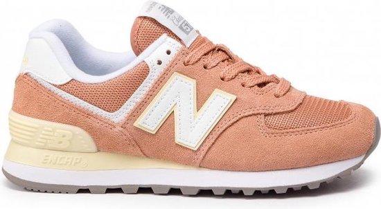 New Balance - Dames Sneakers WL574ESF - Oranje - Maat 35