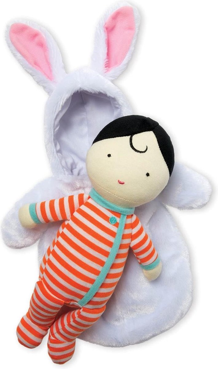 Manhattan Toy Babypop Snuggle Bunny Meisjes 38 Cm 2-delig