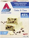 Atkins Maaltijdrepen - Cookies & Cream - 20 repen