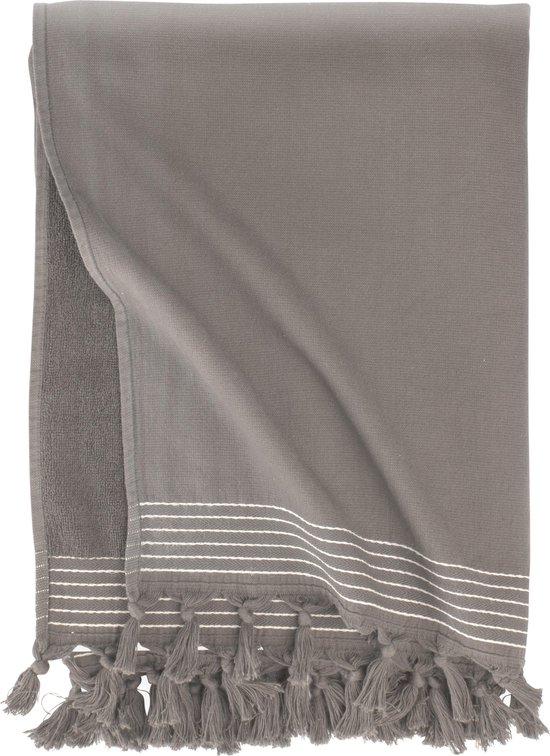 Walra Hamamdoek Soft Cotton - 100x180 - 100% Katoen - Taupe