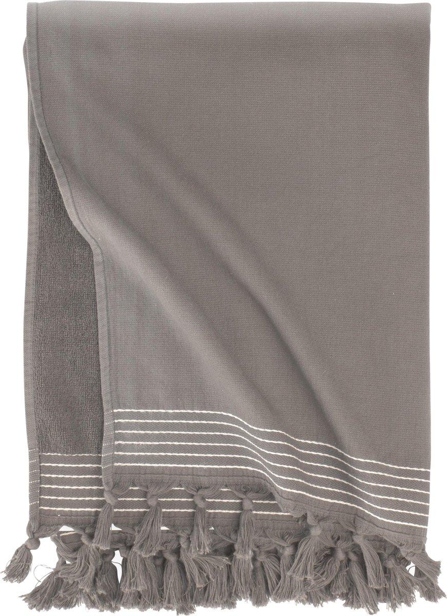 Walra Hamamdoek - Taupe - 100x180 cm